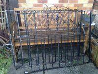 High quality steel garden gates