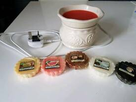 Yankee melts and warmer £10 the lot