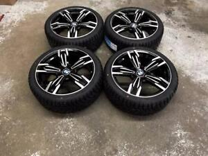 """18"""" BMW Wheels 5x120 and Winter Tires 225/40R18 (BMW Cars) Calgary Alberta Preview"""