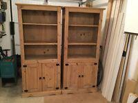 Pine Dresser x 2