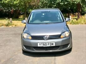 Volkswagen Golf Plus 1.6 TDI BlueMotion Tech, 2 YEARS WARRANTY, £30 ROAD TAX PARK Assist VW mpv