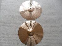 """Paiste Alpha 14"""" Hi Hat cymbals - Excellent condition"""