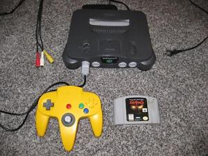 NINTENDO 64 N64 SYSTEM + NIGHTMARE CREATURES 100% TESTED AND WORKING