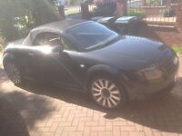 2004 Audi TT 1.8 Roadster Black (150bhp) Petrol