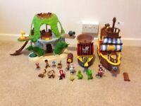 Jake and neverland pirates toy bundle