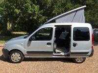 2006 (56)reg Renault Kangoo Camper Van 2 berth 1.2 16V - 37504 milesm- Part Exchange Welcome