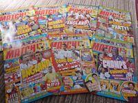 Match Football Magazines