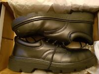 Uni-sex Safety Shoes Arco Black Size 8