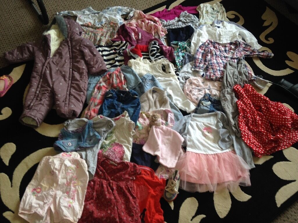 Free girls clothes gap, next, m&s H&M etc