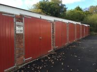 Lock-up storage garages available Swansea and Swansea valley
