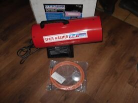 sealey gas space heater new