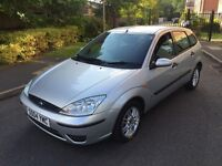 FORD FOCUS PETROL 5 DOORS,12 MONTHS MOT,SERVICE HISTORY,1 OWNER.