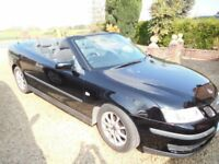 Saab convertible. low mileage. full service history
