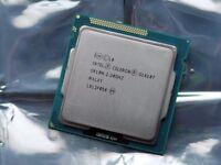 Celeron G1610T dual core CPU w/ 2M Cache, 2.30 GHz. Socket LGA1155