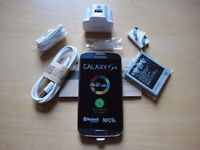 Samsung Galaxy S4 in box with all accessories SIM FREE UNLOCKED