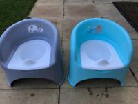 Mothercare Potty Chairs x 2