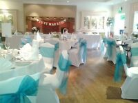 WEDDING CHAIR COVERS FOR HIRE - LYCRA - £1.50 EACH - WEST MIDLANDS