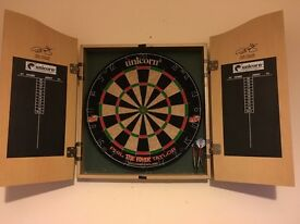 Phil Taylor dart board