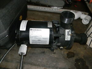 American products 381282 pump w franklin electric for Pool pump motor hot not working