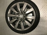 4 X Winter wheels VW Polo / Audi A1