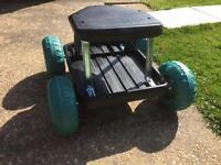 Roller stool