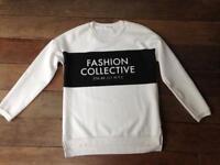 White jumper 'Fashion' £15