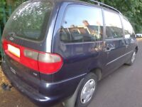 classic old 7 seater ford galaxy 1.9 tdi diesel+11 months mot+toawbar+full service history+DELIVERY