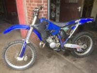 Yamaha yz 125 motocross