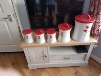 Kitchen storage jars
