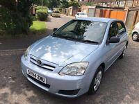 2004 Toyota Corolla 1.4 VVT-i T2 5dr FULLY HPI CLEAR @07445775115