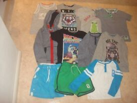 bundle of clothes size 4-5 years