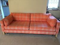 Karlstad Ikea Sofa bed and Chair