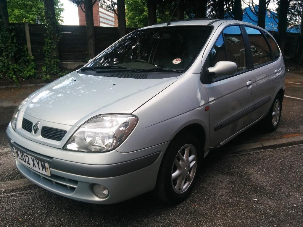 2002 renault megane scenic priv dci silver 1 9 diesel 132k a great family car nice. Black Bedroom Furniture Sets. Home Design Ideas