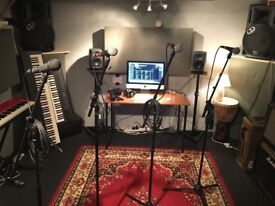 Half Price Rehearsal and music production spaces to hire monthly BS2