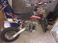 125 / 140 pitbike