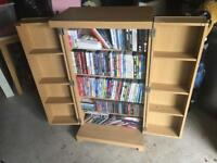 Free Standing Media Storage Cabinet/ TV Stand