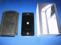 IPHONE 4 16GB (IMMACULATE / BOXED AND UNLOCKED TO ALL NETWORKS)