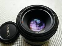50 mm for SONY lens.