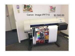 PLOTTERS AND WIDE FORMAT PRINTERS - CANON & HP