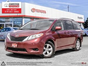 2014 Toyota Sienna LE 8 Passenger One Owner, No Accidents, To...