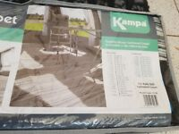 Kampa continental cushioned carpet. Ground sheet. Awning carpet used twice