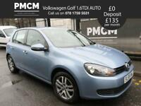 VOLKSWAGEN GOLF 2009 1.6 TDI SE DSG 5d AUTO - LONG MOT - FINANCE - AUTOMATIC - astra focus a3 2009