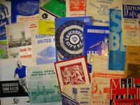 WANTED - Football Programmes, Collectables & Memorabilia
