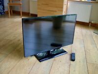 """SAMSUNG 32"""" LED FREEVIEW HD FREE DELIVERY 1080p 3xHDMI USB"""