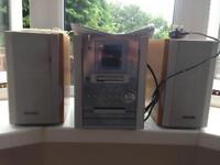 Panasonic CD/Tape/Radio Stereo System