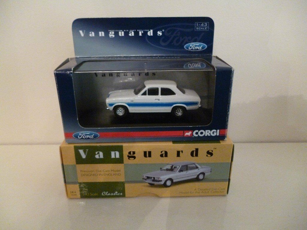 VANGUARDS FORD ESCORT / CORTINA 1-43 SCALE DIECAST MODEL CARS | in ...