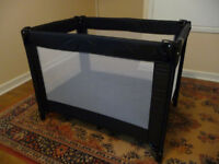 Red Kite Travel Cot with mattress.