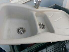 Kitchen Sink Resin Grey