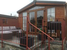 Holiday lodge for hire(craigrossie lodge33) available for 1 night to 14 night breaks