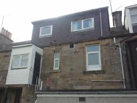 Central Elgin, 2 x double bed flat available for flat share, close to all amenities & college
